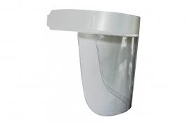 Viziera transparenta pentru protecția feței
