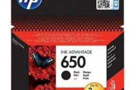Cartus cerneala HP 650, Negru